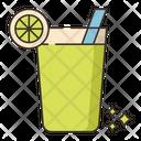 Juice Cocktail Juice Glass Icon