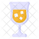 Juice Ice Drink Glass Icon