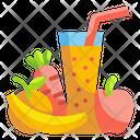 Juice Fruit Organic Icon