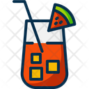 Juice Watermelon Drink Icon