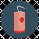 Juice Carton Icon