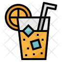 Juice Orange Drink Icon