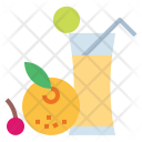 Juice Fruit Drink Icon