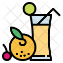 Juice Fruit Drink Icon
