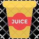 Juice Glass Takeaway Icon