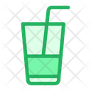 Glass Drink Strow Icon
