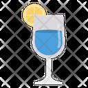 Drink Glass Lemon Icon