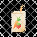 Juice Box Juice Drink Icon