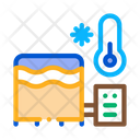 Juice Cooling Plant Icon
