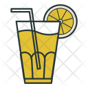 Juice Fresh Lemon Icon