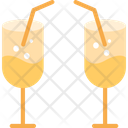 Juice Glass Drink Glass Cocktail Icon