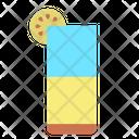 Ijuice Glass Juice Glass Mocktail Glass Icon