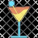Ijuice Juice Glass Mocktail Glass Icon