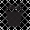 Juice Leaf Illustration Icon