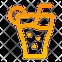 Beverage Glass Fresh Icon