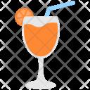 Goblet Glass Juice Icon
