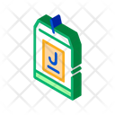Juice Package Production Icon