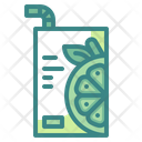 Juice Package Juice Box Icon
