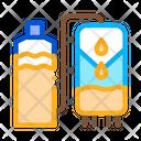 Juice Production Plant Icon