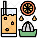 Juicer Glass Food Icon
