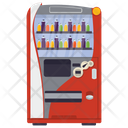 Vending Machine Juice Vendor Coin Machine Icon