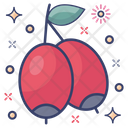 Jujube Healthy Food Chinese Dates Icon