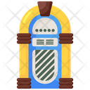 Jukebox Record Player Music Device Icon