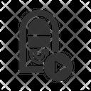 Jukebox Turn Play Icon