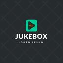 Jukebox Tag Jukebox Label Jukebox Logo Icon