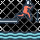 Jump Leap Spurt Icon