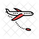 Jump From Airplane Icon