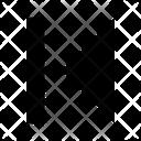 Jump Left Icon