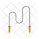 Jump Rope Skipping Rope Jumping String Icon