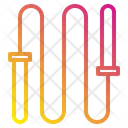 Jump Rope Sport Exercise Icon
