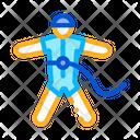 Parachute Extreme Sport Icon