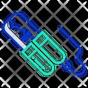 Jumper Cables Alligator Clip Electronic Clip Icon