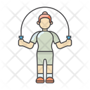 Exercises Jumping Jumping Rope Icon