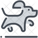 Jumping dog Icon