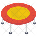 Jumping Mat Icon