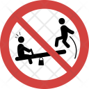 Jumping Seesaw Dont Icon