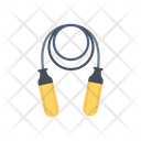 Jumping Rope Fitness Exercise Icon
