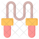 Jump Rope Fitness Icon