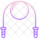 Jumping Rope Jump Rope Exercise Icon