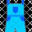 Jumpsuit Fashion Clothes Icon