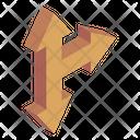 Junction Arrows Icon
