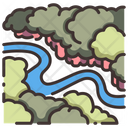 Jungle Forest Nature Icon