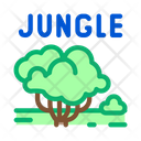 Lungle Tree Wood Icon