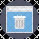 Junk Files Dustbin Icon