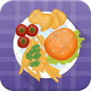Burger French Fries Icon