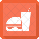 Burger Fastfood Drink Icon